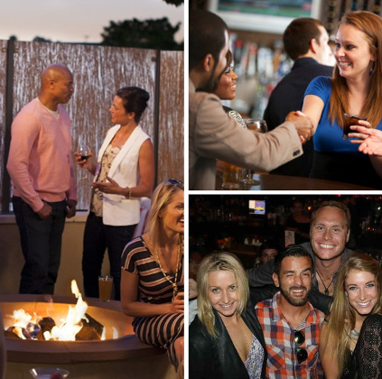 The Fun Singles events are hosted at a comfortable venues and different from other singles events and speed dating services.