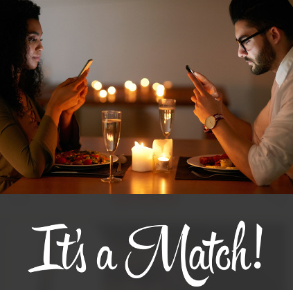 Online dating and dating apps are more time consuming than Singles events for like minded single professionals.