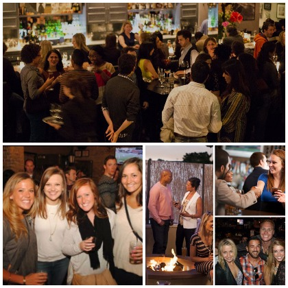 Happy Hour, Mixer, Speed Dating, Pub Crawl, Black and White Party, After Work Networking events bring local singles together for a fun meetup.